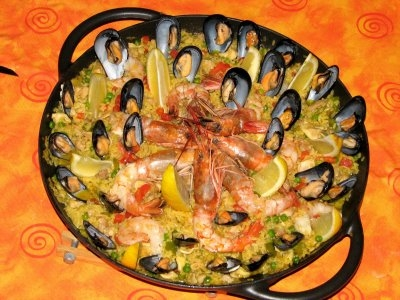 Paella alla valenziana